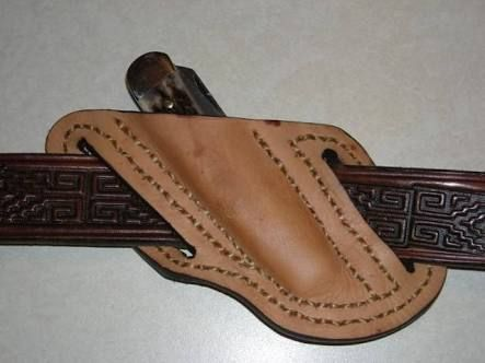 How To Make A Leather Crossdraw Knife Sheath Pesquisa Google I
