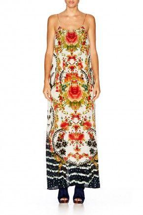 CAMILLA LA ROSA LOWBACK LAYERED DRESS 1