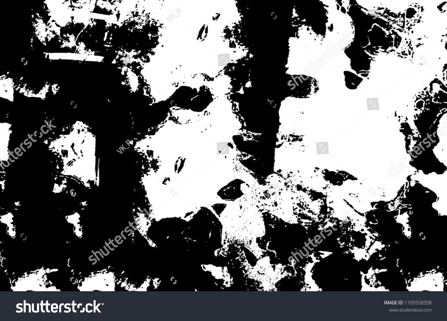 Abstract Monochrome Grunge Background Black And White Vintage