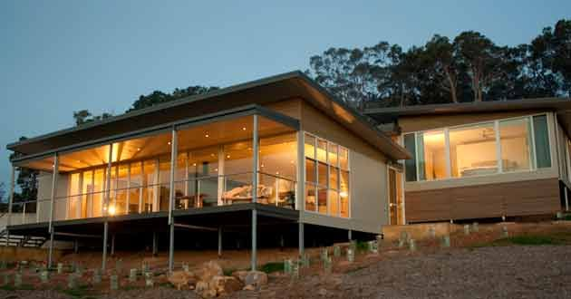 Yallingup Sublime Yallingup Holiday Home House On Stilts Skillion Roof Shed Homes