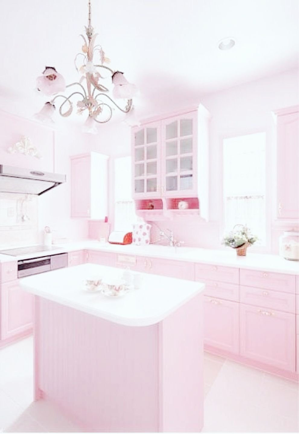 Pin by Teala Holt on kitchen Pink room design, Pink