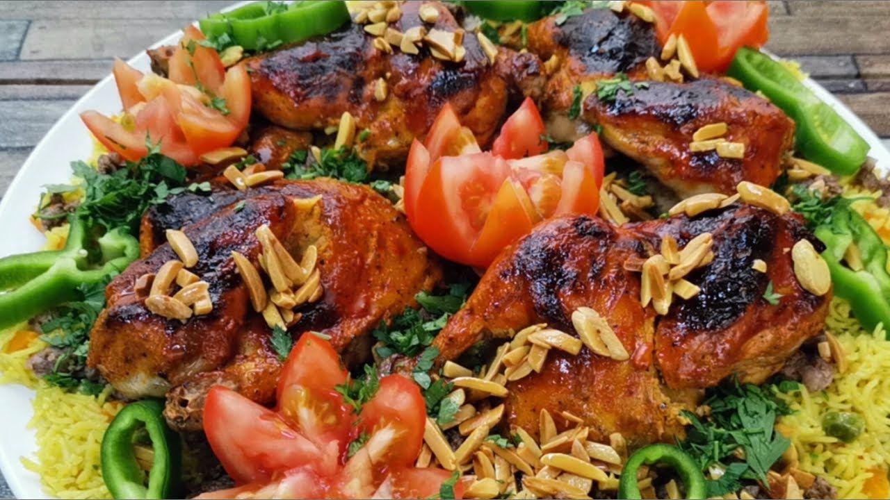 طريقة عمل أرز أوزي مبهر مع تتبيلة دجاج لا تقاوم Youtube Chicken Food Meat