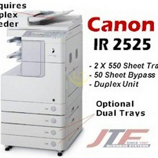 CANON IR 2525 COPIER DRIVER UPDATE