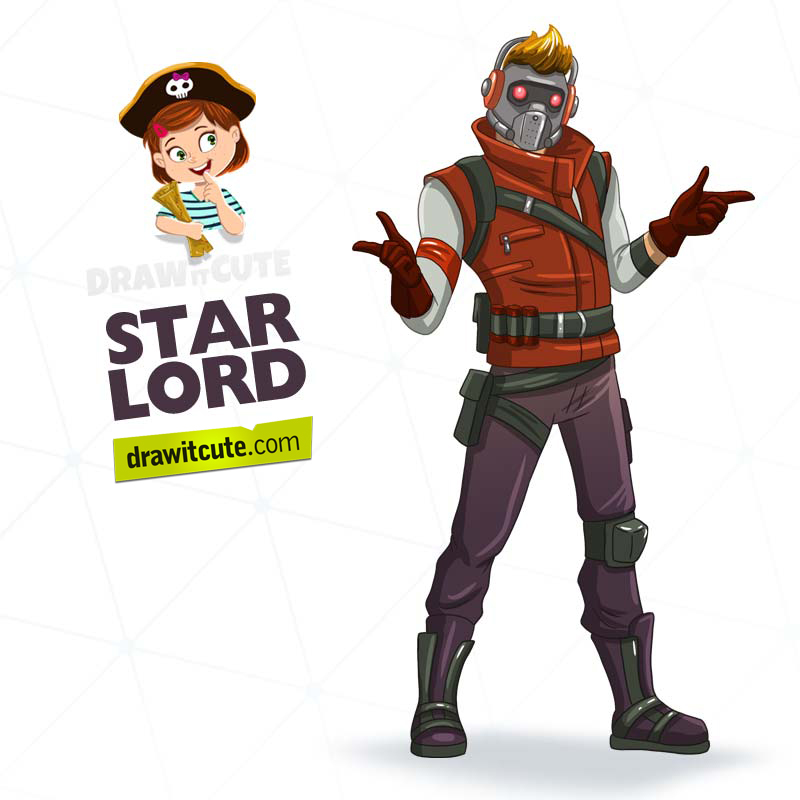 How To Draw Star Lord Step By Step Guide By Drawitcute On Deviantart Star Lord Drawing Stars Lord