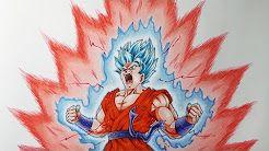 Dibujar Goku Ssj Dios Azul Kaioken Youtube Goku Ssj Dios Azul Goku Dibujos