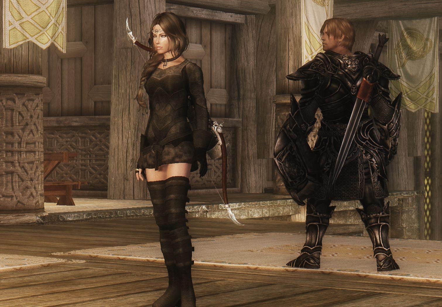 Ashara Elven archer armour revisited at Skyrim Nexus - mods