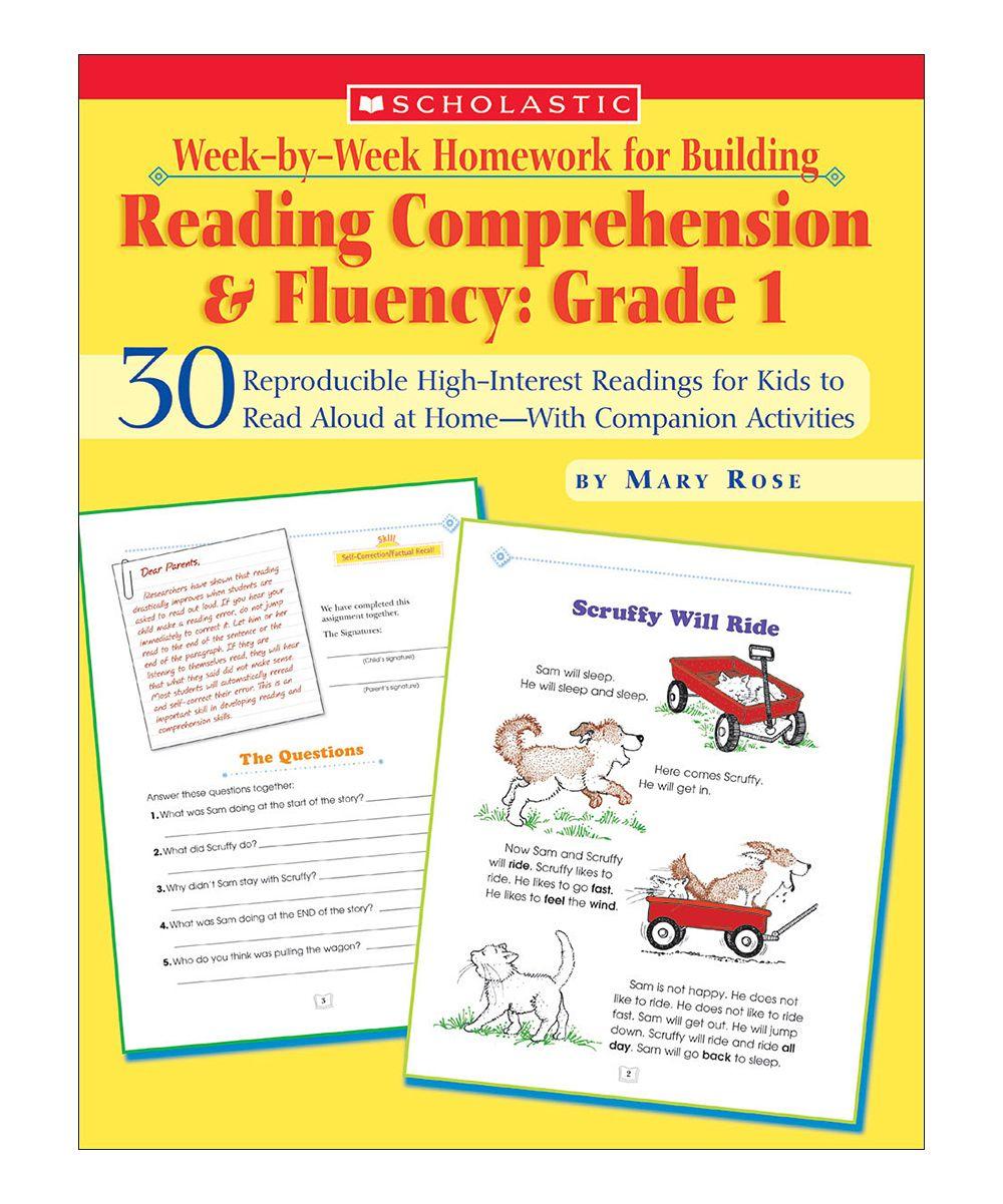 Grade 1 Week-by-Week Reading Comprehension & Fluency