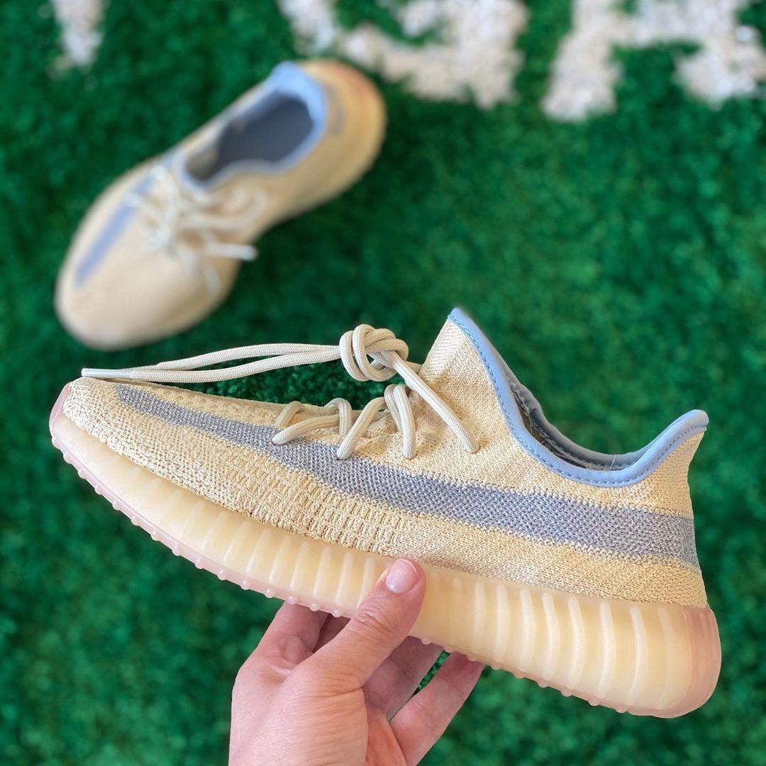 Adidas Yeezy Boost 350 V2 Linen In 2020 Sneaker Kanye West Streetwear