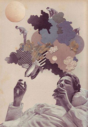 1881, art, colagem, collage, crafted paper, cut, dream, drug