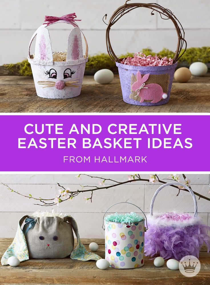 Diy Easter Basket Ideas 7 Unique And Fun Easter Basket