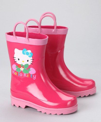 37e6e9255 everything pink | Sanrio Hello Kitty Girl's Pink Rain Boots ...