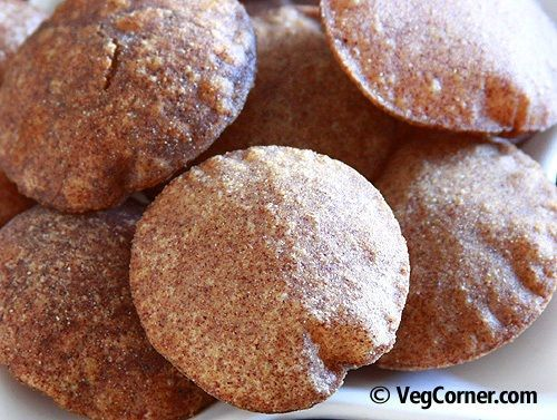 Try these ragi pooris for a change from the usual whole wheat flour pooris These pooris have an interesting color making it curious for both children and adults alike It...