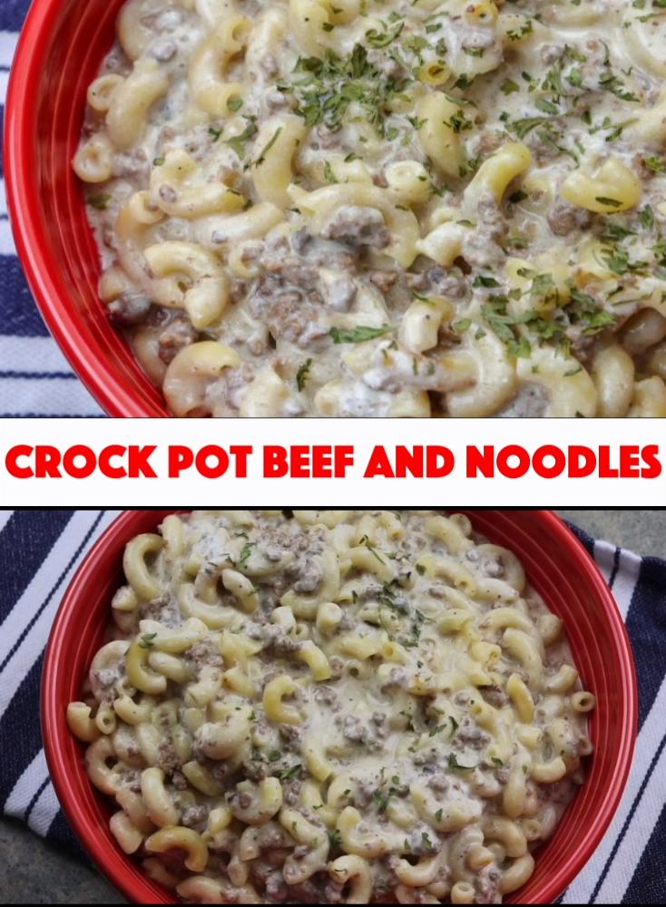 Crock Pot Beef and Noodles images