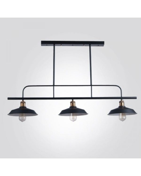 43 wide large pool table linear island pendant light in black 43 wide large pool table linear island pendant light aloadofball Image collections