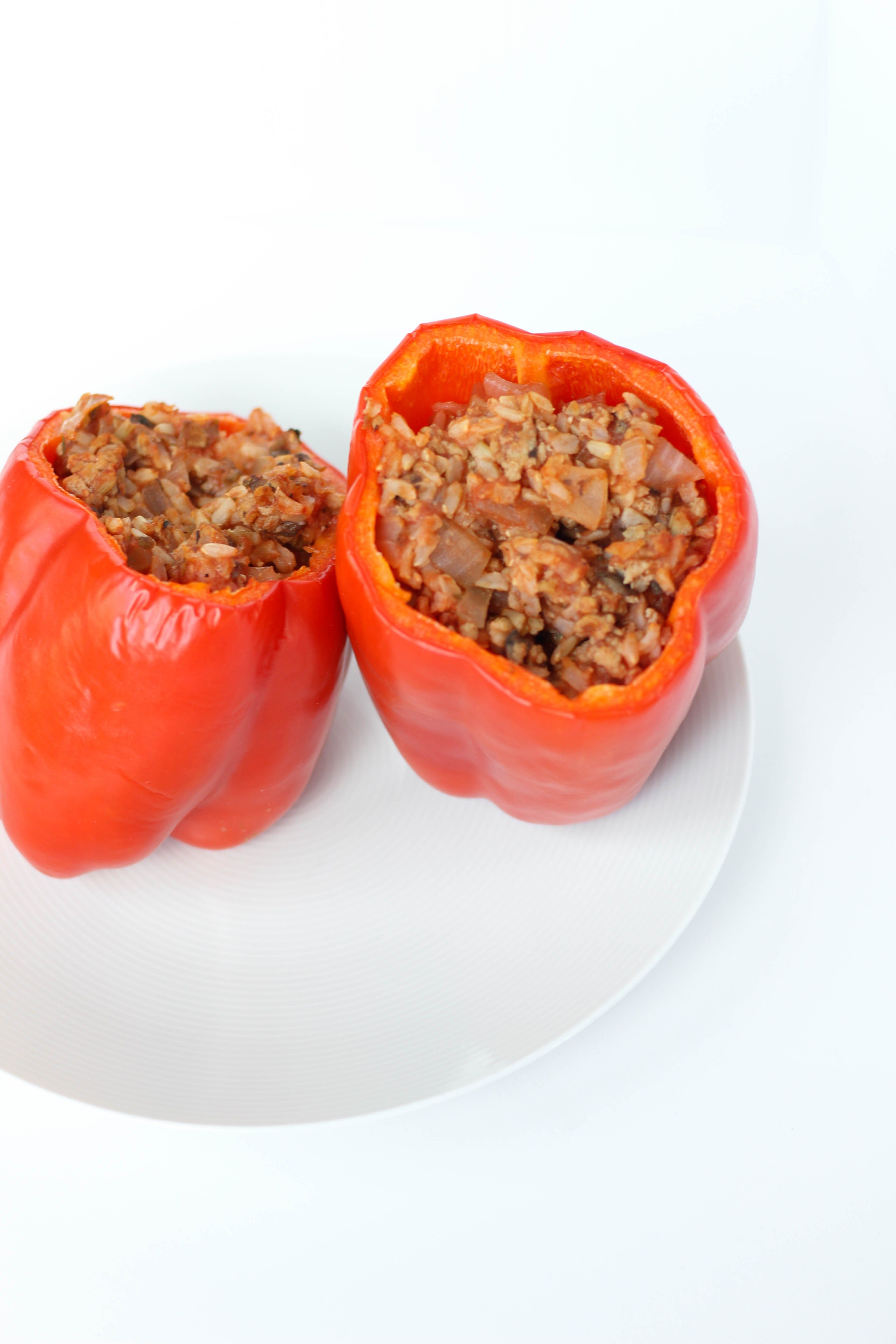 Turkey Stuffed Bell Peppers Gluten Free Stacey Mattinson Nutrition Recipe Stuffed Peppers Stuffed Bell Peppers Classic Food