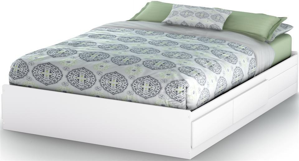 Queen Size Storage Bed Platform, Queen Mates Bed