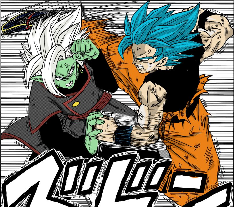 Dbs Coloured Manga Panel By Scrtchscrtch Anime Dragon Ball Super Dragon Ball Super Manga Dragon Ball Art