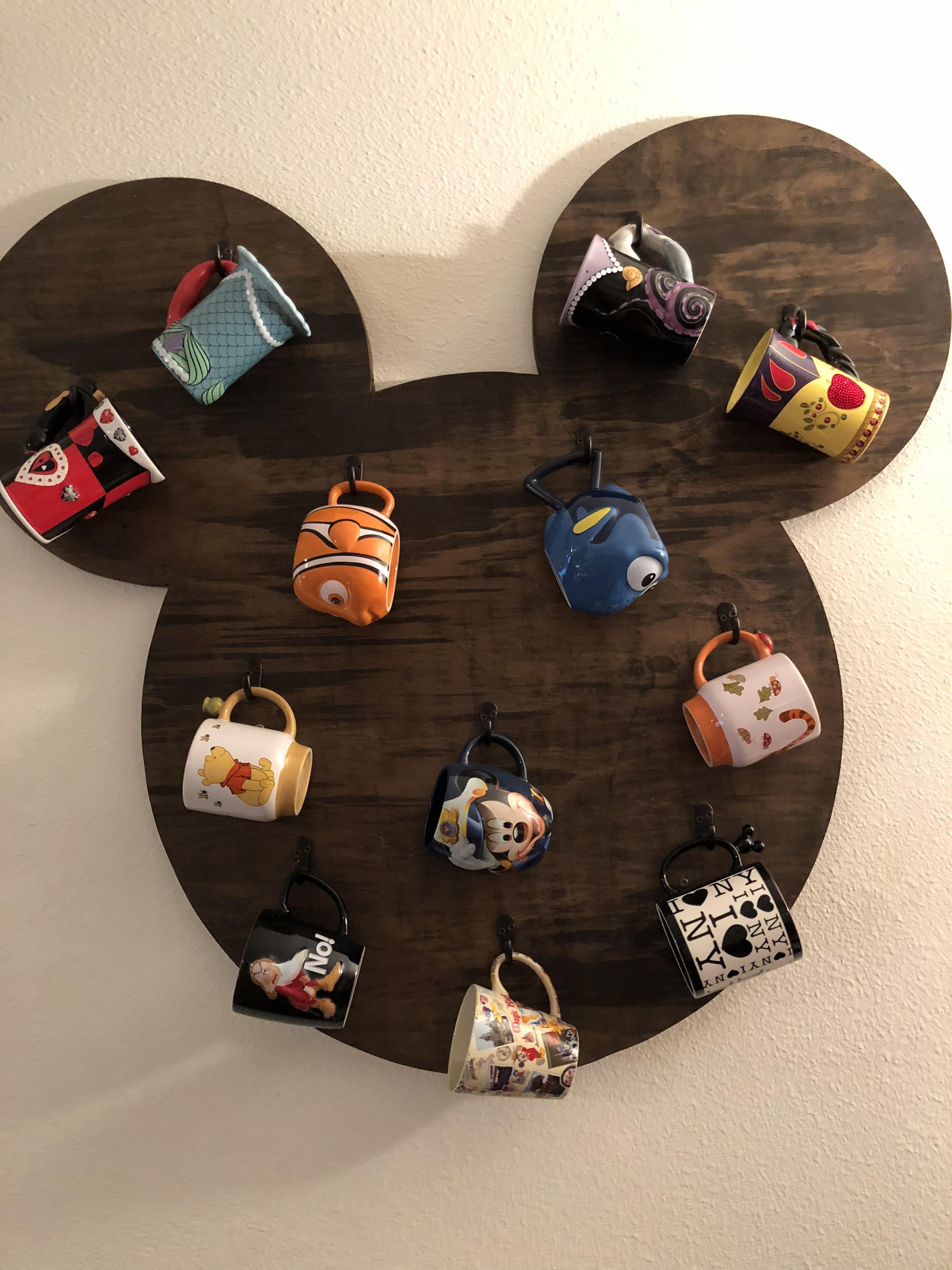 Disney Mug Rack Disney Decor Disney Decor Diy Disney Home Decor