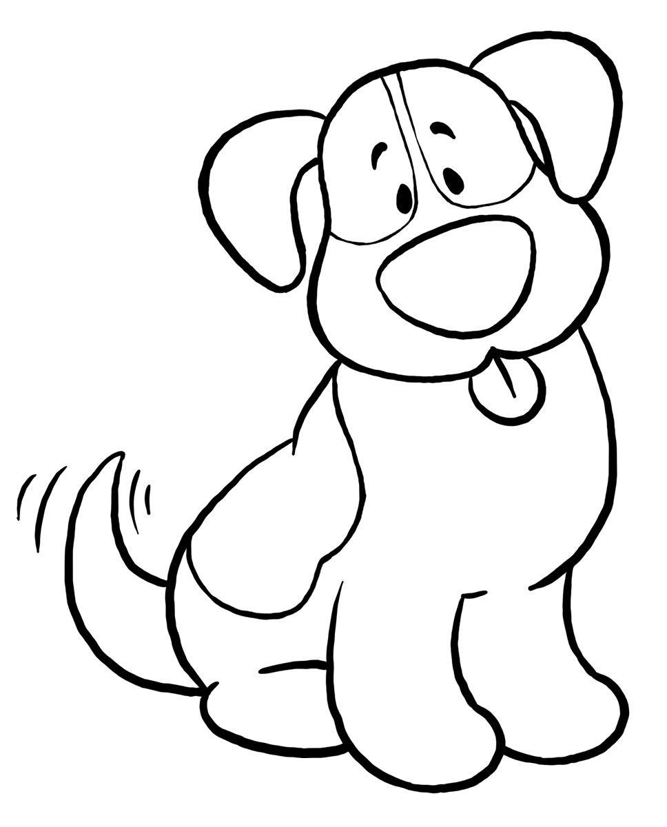 cachorros+-+desenhos+para+colorir+(6).jpg (968×1200) | 3. Схемы дл ...