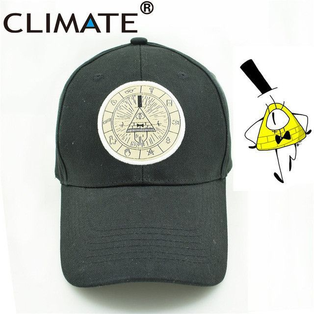 U.S Cartoon Gravity Fall Mabel Dipper Bill Cipher Fans Baseball Caps ...