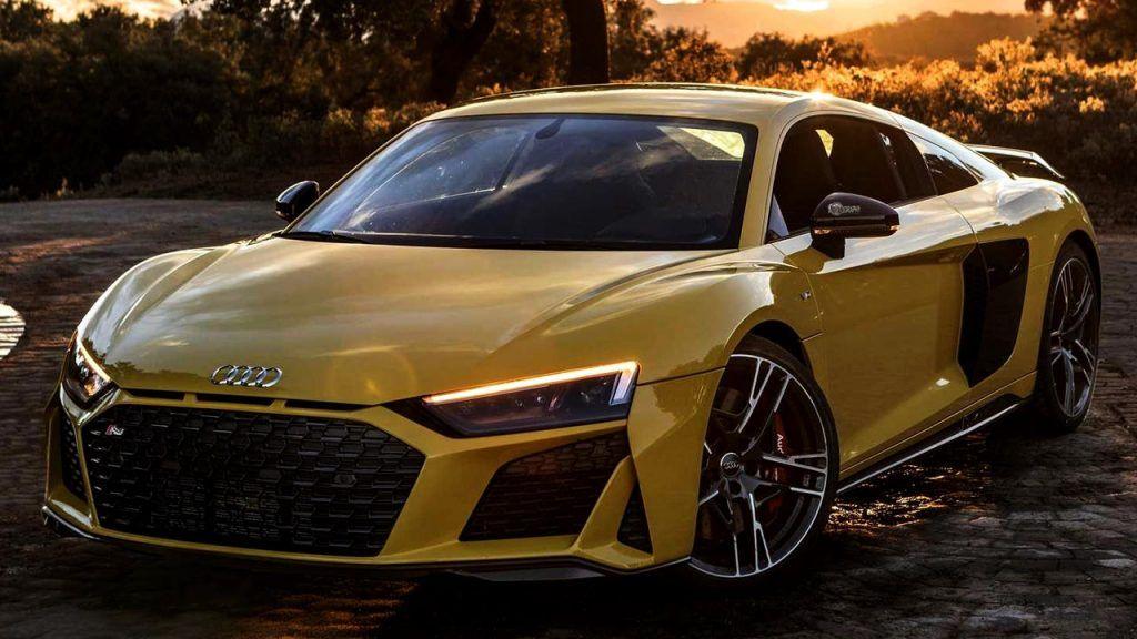 Pictures Audi R8 V10 Performance Quattro Vegas Yellow Autopromag In 2020 Audi R8 V10 Audi R8 Audi