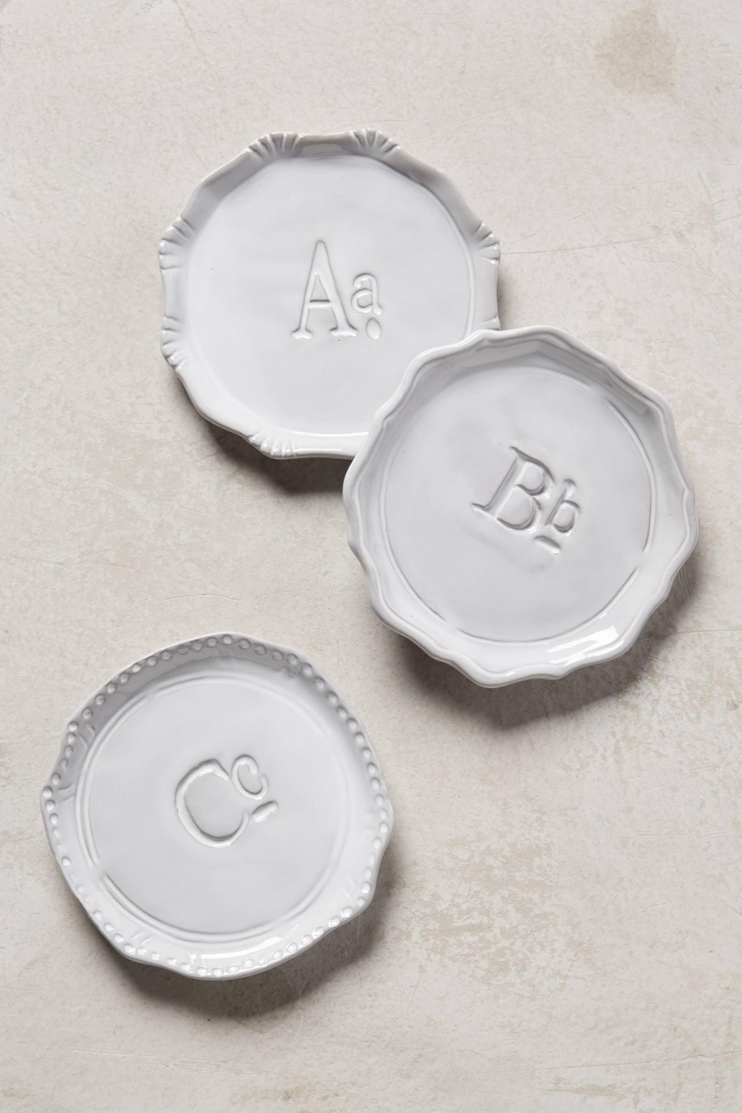 Superscript Monogram Coaster Farm house Tablewares and Kitchens