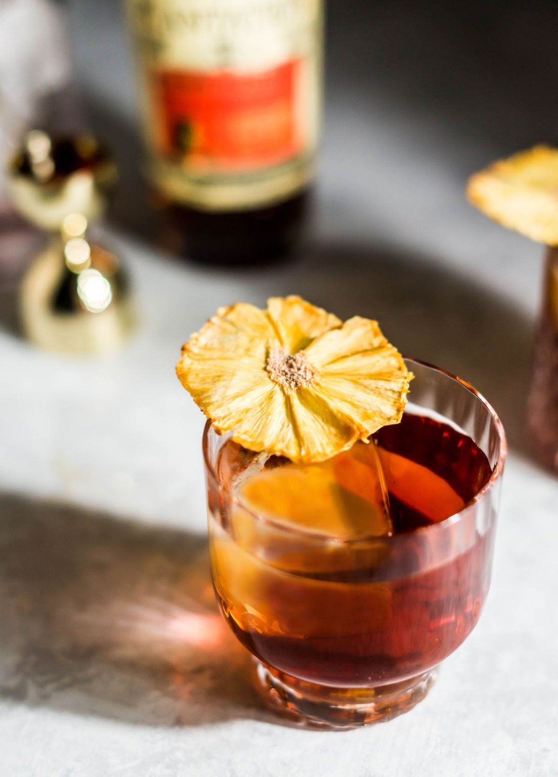 Coco Banana Pineapple Rum Old Fashioned (With images ...