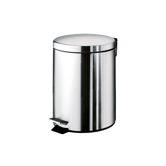 Dw 31 Round Wall Mounted Wastebasket Trash Can W Hinged Lid