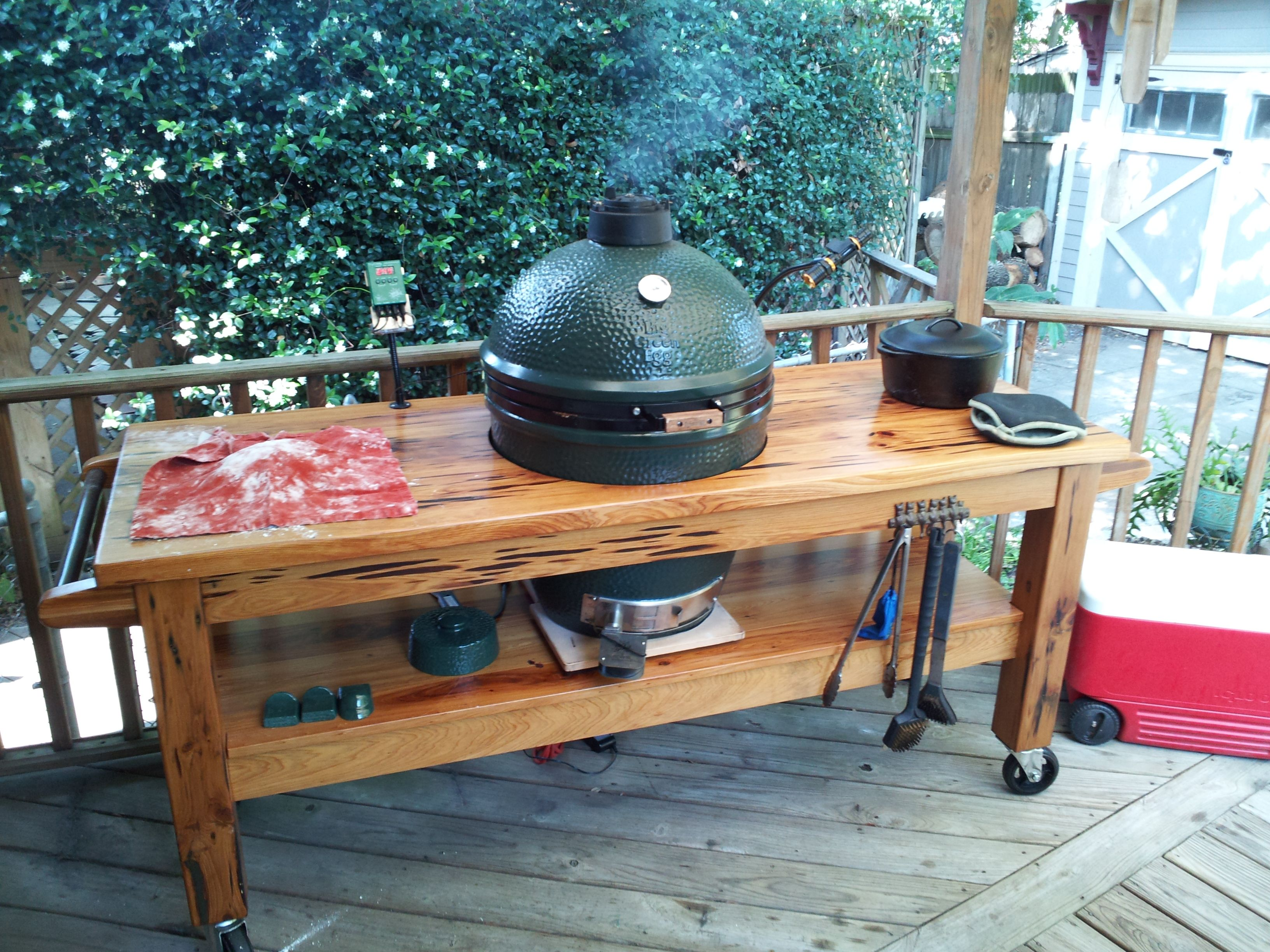 Building a bge table nest google search big green egg