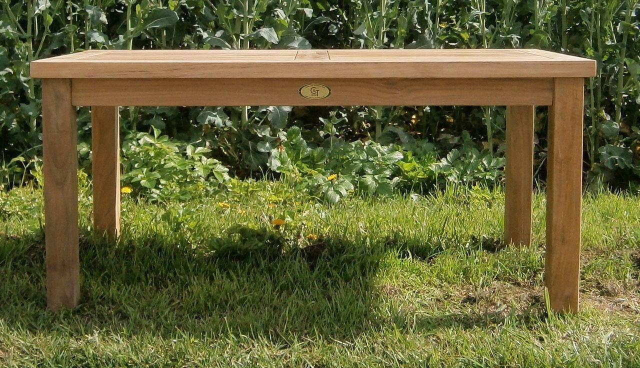 southwold rectangular teak 100 x 50cm coffee table pinterest