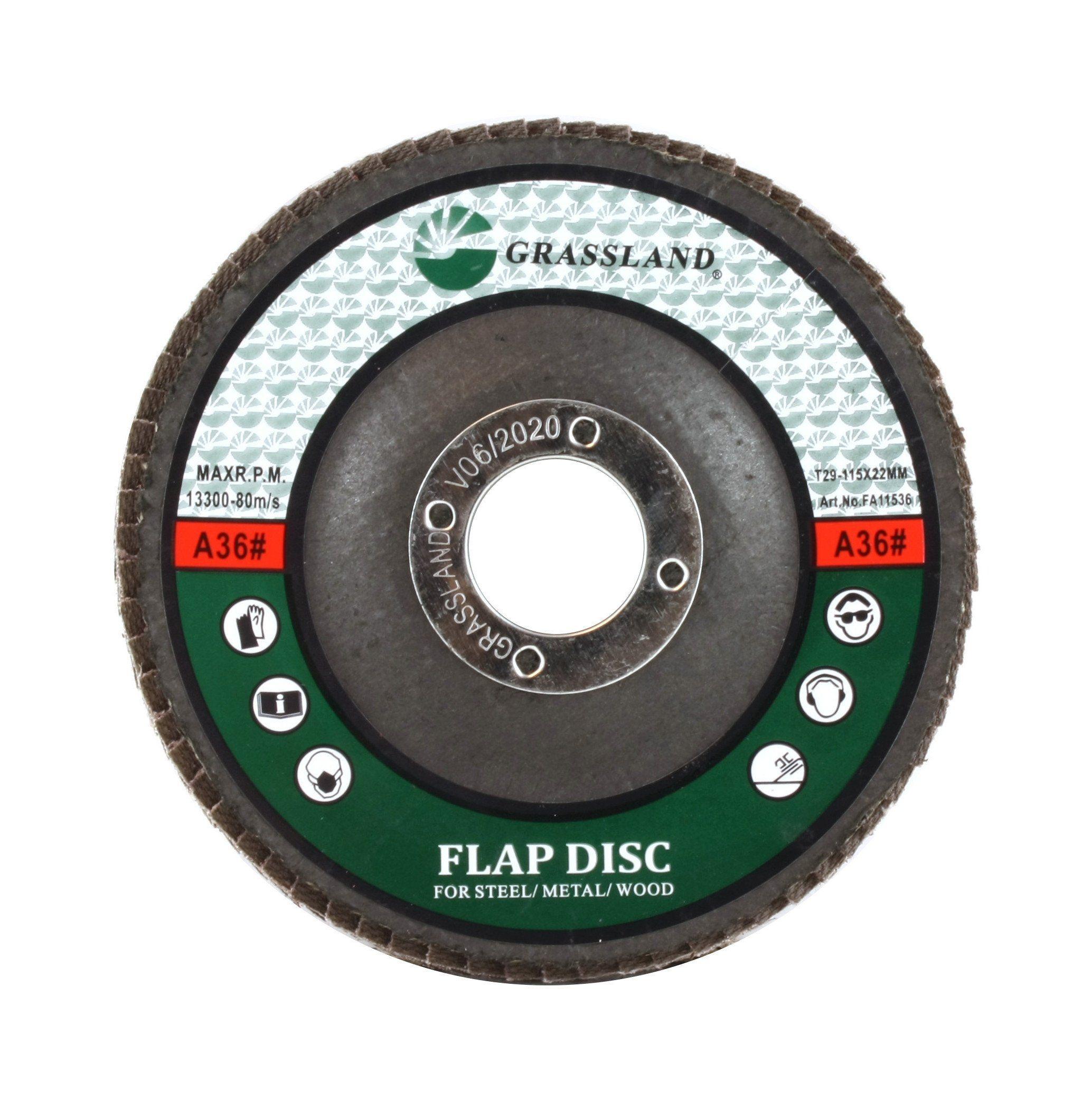 "50 Pack 4.5"" x 7//8/"" Professional 80 Grit Zirconia Flap Disc Grinding Wheels T29"