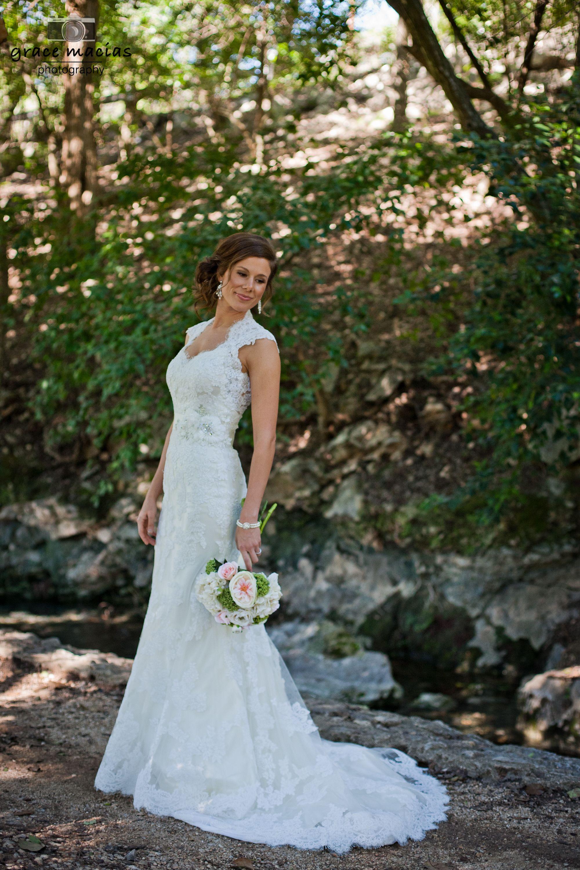 Bridal Portraits. Landa Park. New Braunfels, TX. Grace ...