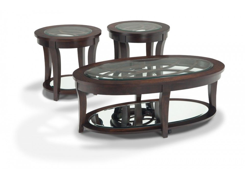 Stella coffee table set coffee end tables living for Coffee tables bobs furniture