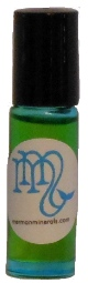 M - is a 100% natural blend of essential oils in a base of Jojoba & fractionated Coconut Oil. Custom-made by Patti Glynn, owner of Mermaid Minerals, it's perfect for women and men who are looking for a scent that is spicy & earthy. Like no other! Comes in a 5 ml. aqua-blue, roll-on bottle.