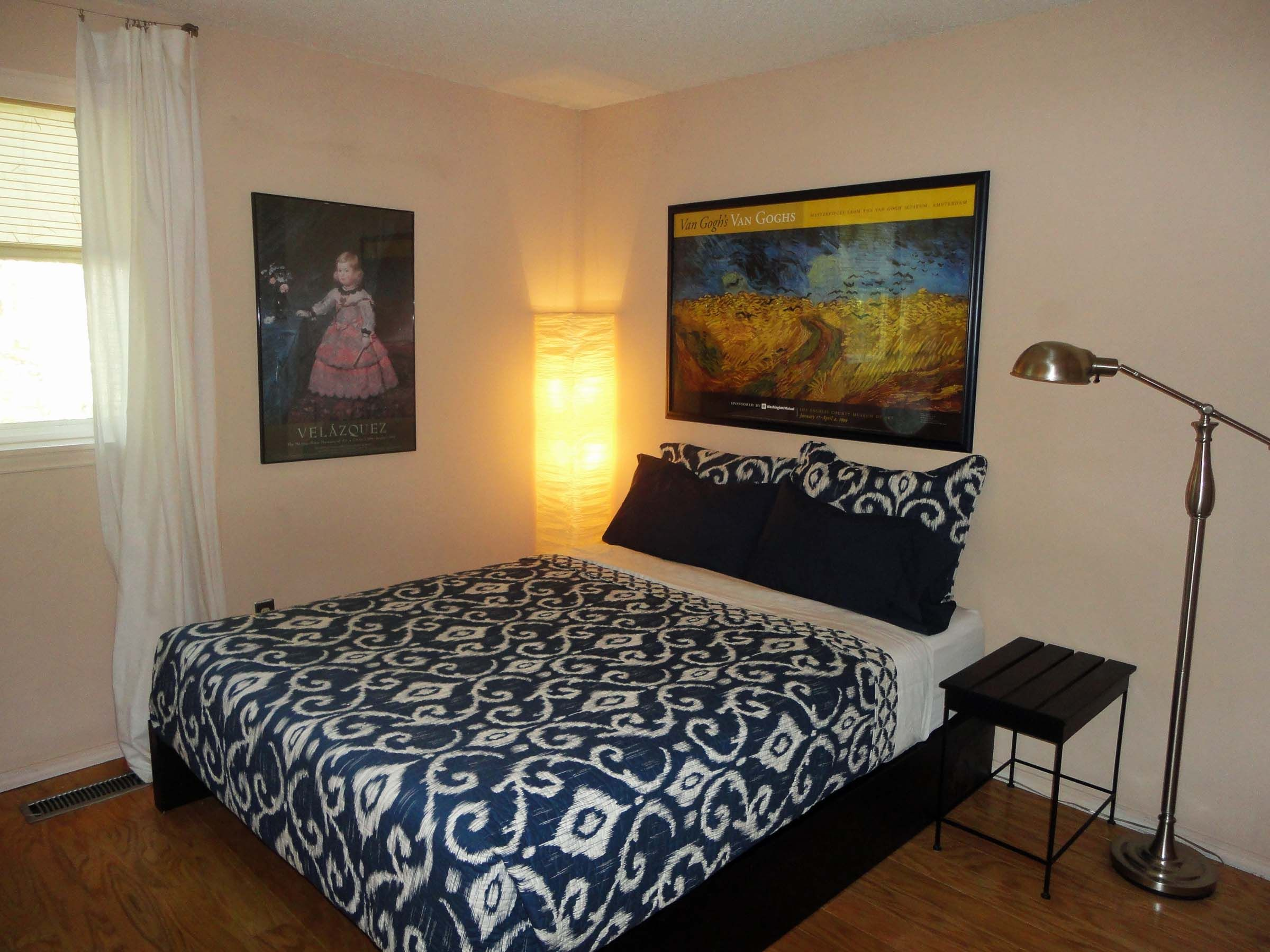 our newly remodeled guest room!
