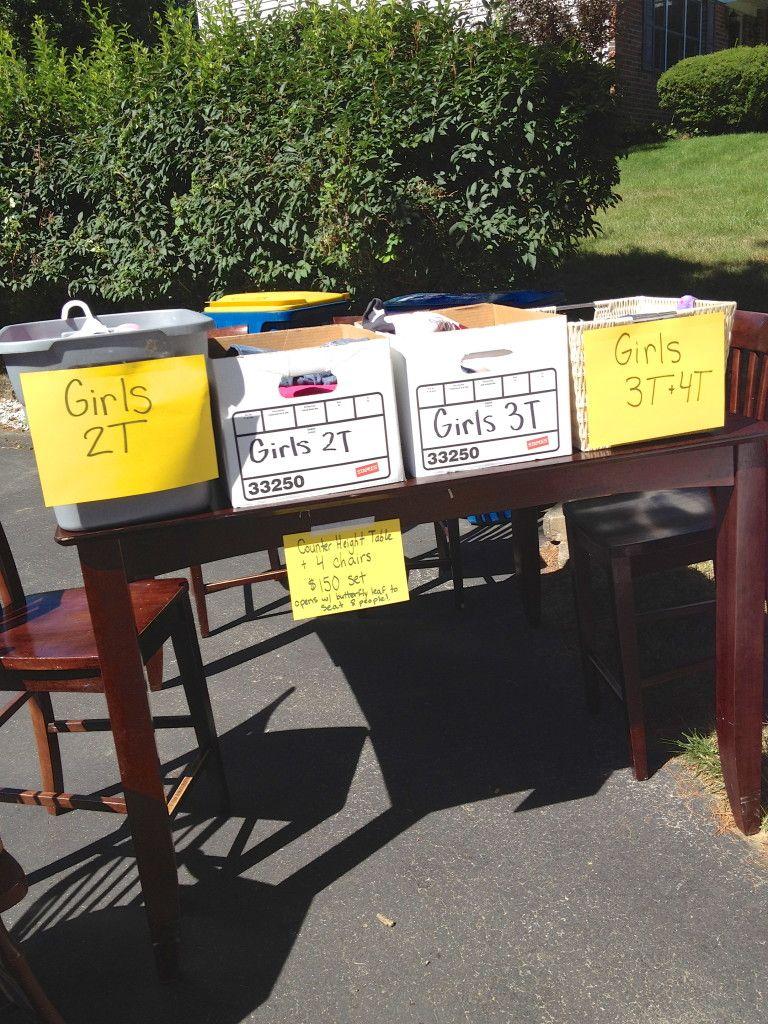 Tips For A Wildly Successful Yard Sale Yard Sale Fundraiser Yard Sale Display Yard Sale Organization