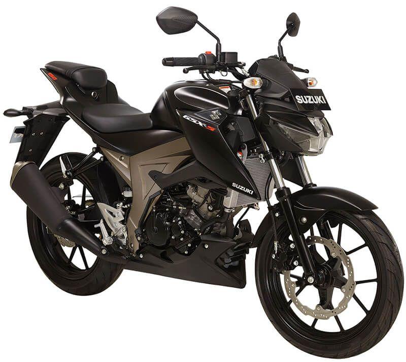 Suzuki Gsx S150 Black Mate