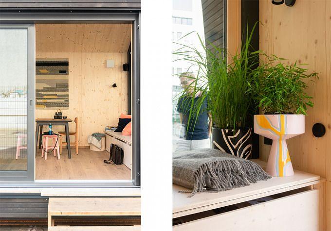 Skandinavisches Design und Minimalismus lassen das Cabin ...