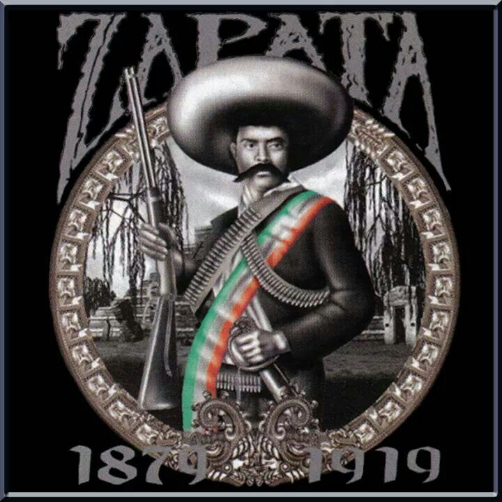 General zapata mexican chicano pinterest chicano for Mexican pride tattoos