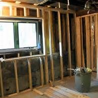 Framing A Basement Wall Against Concrete Construction