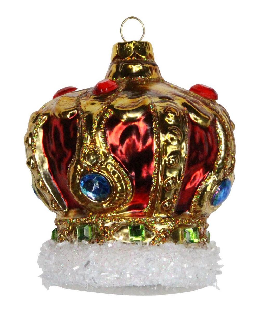 Multicoloured Glass Crown Decoration in 2020 Festival