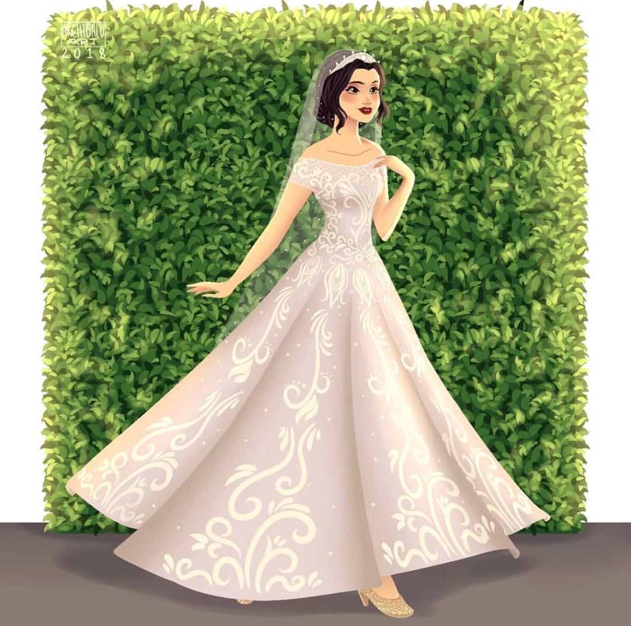 Greco Archibald Disney Princesses X Modern Brides Snow White Disney Princess Wedding Dresses Disney Princess Wedding Disney Bride [ 1232 x 1242 Pixel ]