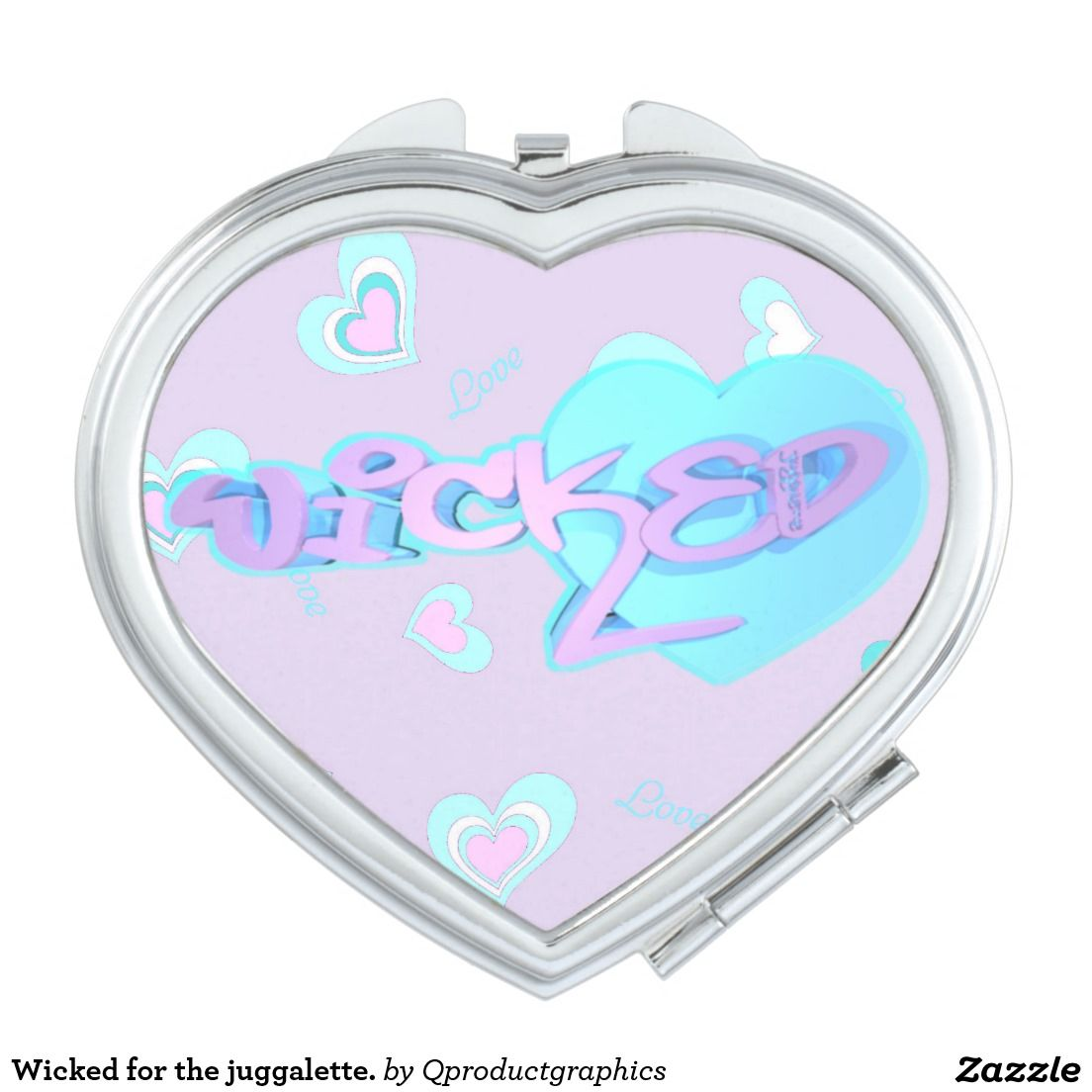 Wicked for the juggalette. mirror for makeup. #wicked #juggalo #juggalette #family