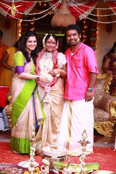 Celebs At Lalitha Shobi Baby Shower Function Baby Shower Idea