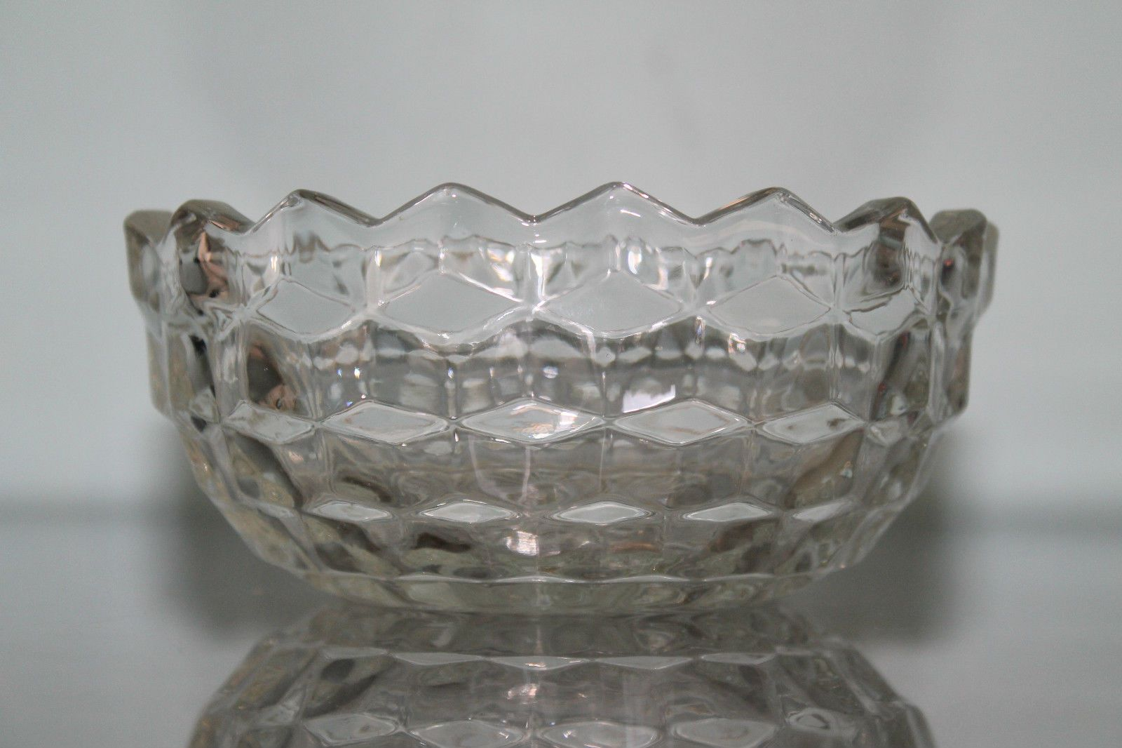 Murano Glass Bowl Stunning Clear Piece Vintage Rare Shape Beautiful Gorgeous 39 99 With Images Glass Bowl Heavy Glass Bowl