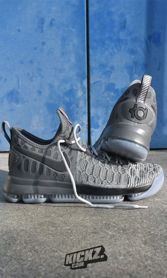 watch c5dc4 75a75 Kevin Durant runs the NBA with his Grey in Grey KD9. Get yours and run your  league like KD.