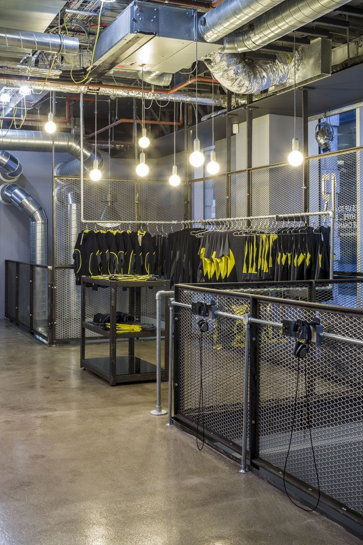Rebel boutique gym in london by studio c yatzer e