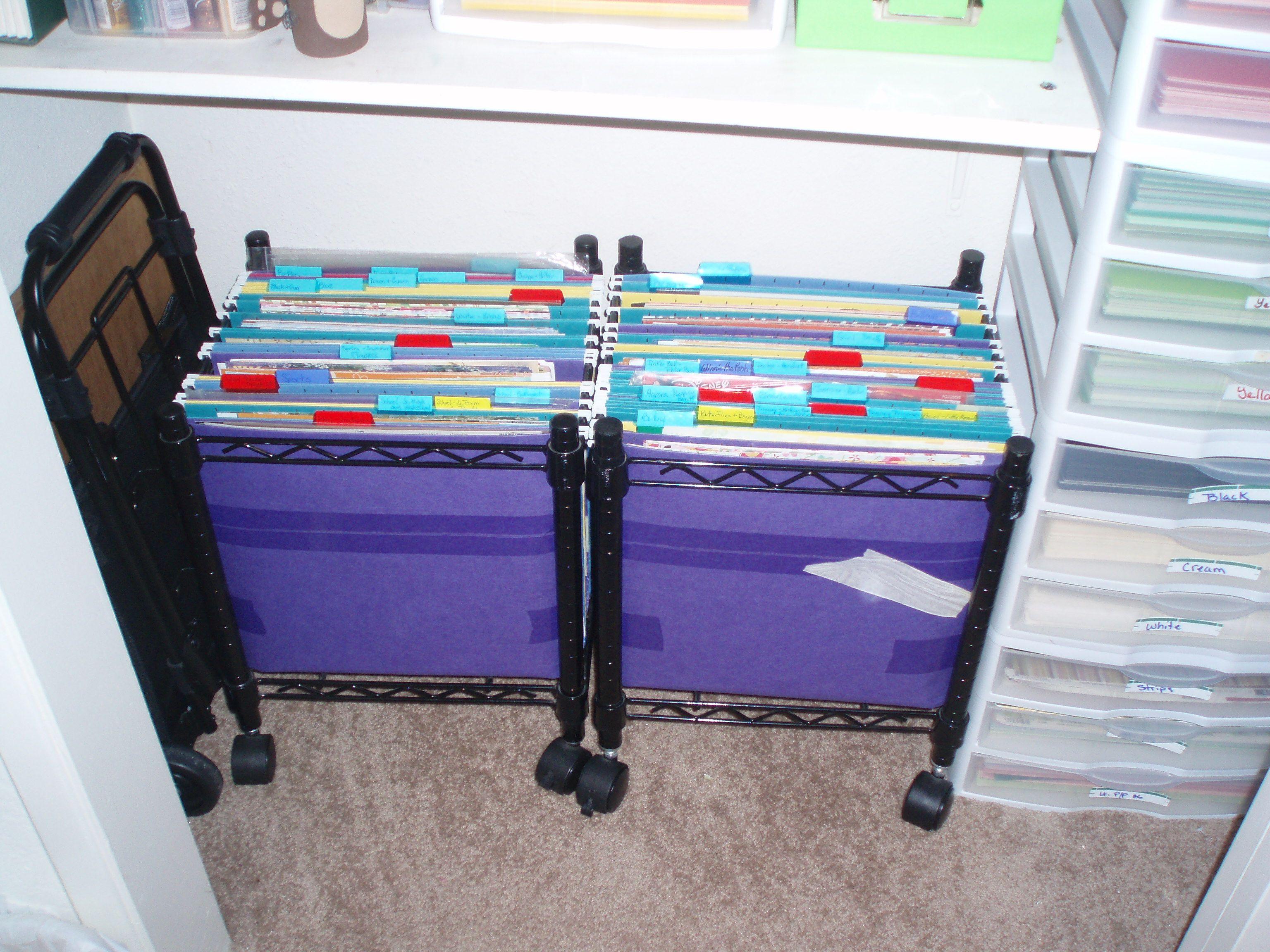 crafts scrapbook paper storage ideas by michellev68 on pinterest paper storage scrapbook. Black Bedroom Furniture Sets. Home Design Ideas