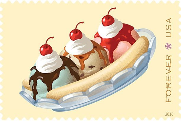 Your Favorite Soda Fountain Treats Are Now USPS Stamps — Food News