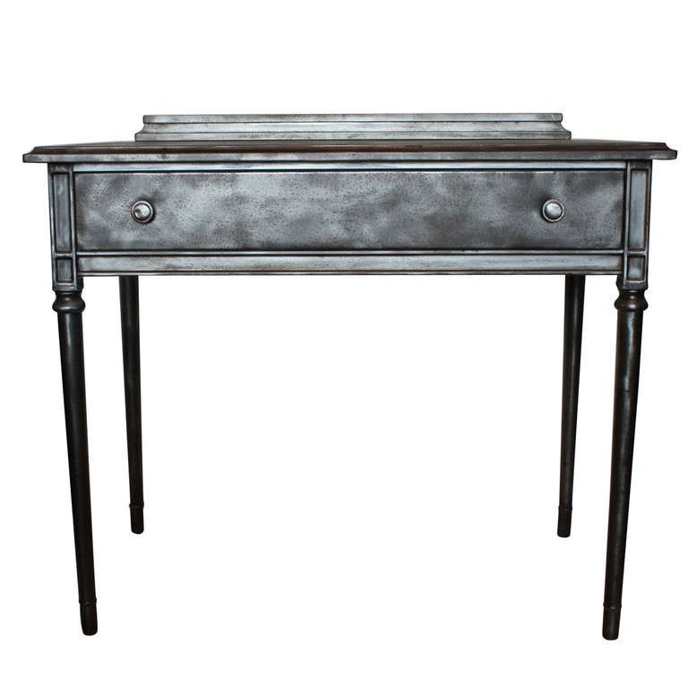 Vintage Metal Desk By Simmons | From a unique collection of antique and  modern desks and - Vintage Metal Desk By Simmons Metal Desks, Writing Table And